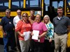 Bus Drivers Recognized