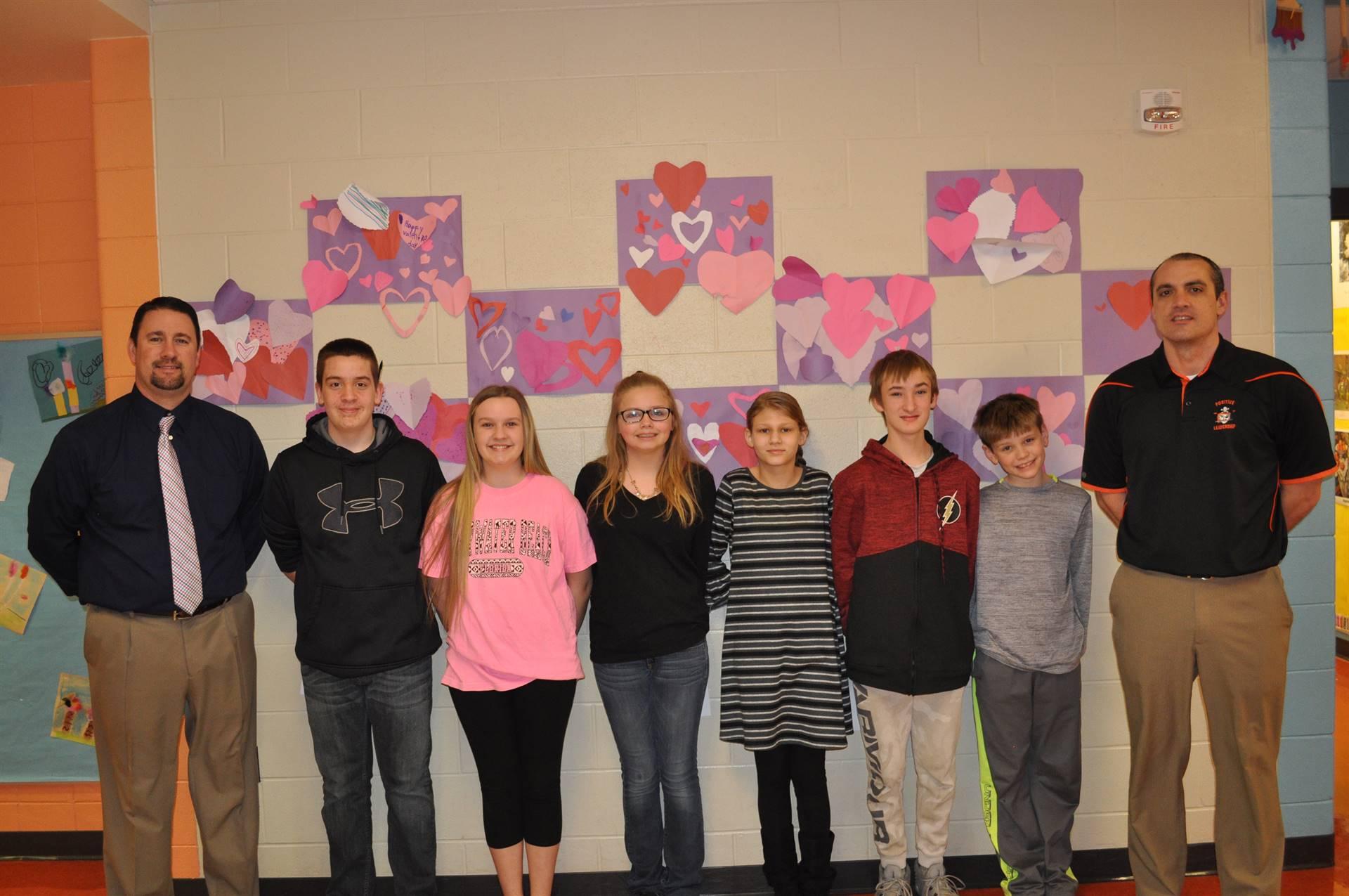 Feb PRIDE students