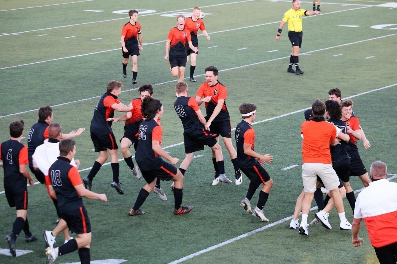 Soccer Celebration